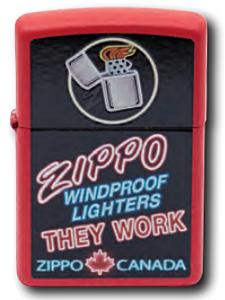 Zippo Canada Lighter