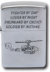 Zippo Fighter by Day Lighter
