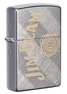 Zippo Jim Beam Diagonal Weave Lighter