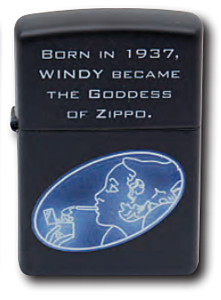 Zippo Windy Goddess Lighter