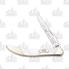 Case Slant Bolster White Pearl Corelon Small Texas Toothpick