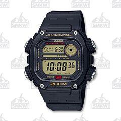 Case Youth Digital Watch Black