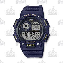 Casio Men's Classic Digital Blue Watch