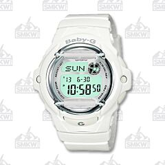 Casio Baby G Digital Watch Resin White