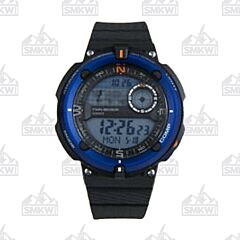 Casio Fishing Timer with Moon Graph Blue Watch
