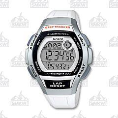 Casio Ladies Sports Digital Watch White