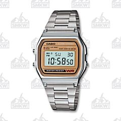 Casio Men Classic Digital Bracelet Watch Tan
