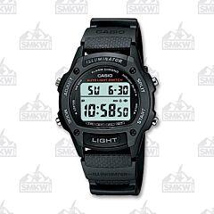 Casio Mens Digital Watch Black