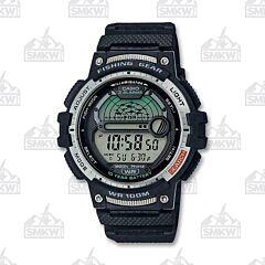 Casio Men's Digital Fishing Gear Black Watch
