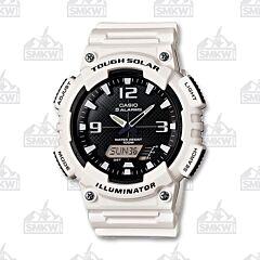 Casio Men's Solar White Sports Watch