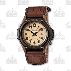 Casio Men's Sport Forester Brown Leather
