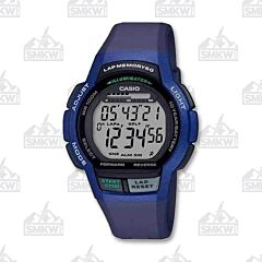 Casio Men's Sport Runner Black and Blue