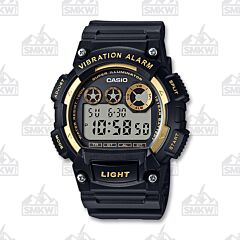 Casio Men's Super Illuminator Black and Yellow