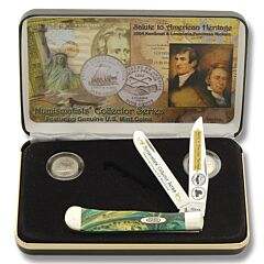 Case Louisiana Purchase Trapper Collector's Set