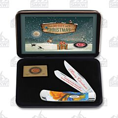 Case Sapphire Glow Reindeer Christmas Trapper