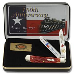 Case Texas Ranger 180th Anniversary Trapper Limited Edition