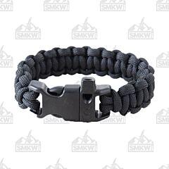 """Combat Ready 8"""" Black Survival Bracelets"""