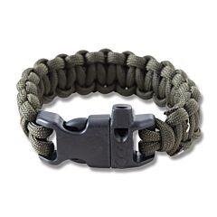 "Combat Ready 8"" OD Green Survival Bracelets"