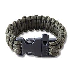 """Combat Ready 9"""" OD Green Survival Bracelets"""