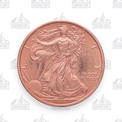 Walking Liberty Copper Round
