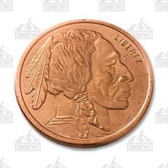 Buffalo Nickel Copper Round