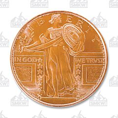 Standing Liberty Copper Round