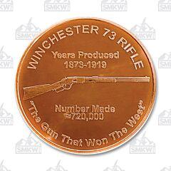 Winchester 73 Rifle Copper Round