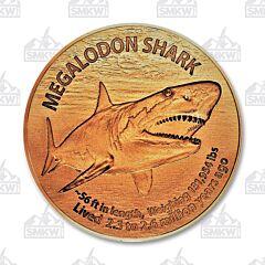 Megalodon Shark Copper Round
