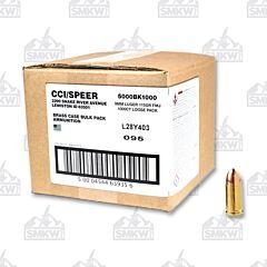 CCI 9MM 115GR Full Metal Jacket 1000 Rounds Bulk Pack