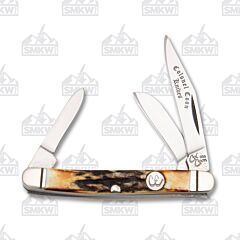 Colonel Coon Small Stockman Stag Handle Stainless Steel Blade