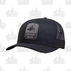 Catchin' Deers Giddy Up Black Mesh Hat
