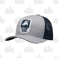 Catchin' Deers Giddy Up Gray Mesh Hat