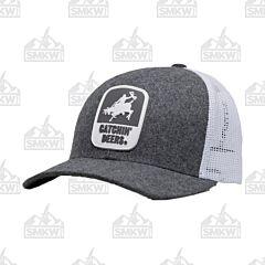 Catchin' Deers Dark Gray Giddy Up Mesh Hat