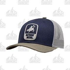 Catchin' Deers Navy Blue Giddy Up Mesh Hat