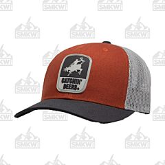 Catchin' Deers Vintage Red Giddy Up Mesh Hat