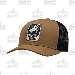 Catchin' Deers Tan Giddy Up Mesh Hat