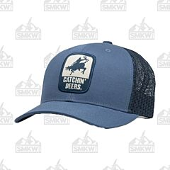 Catchin' Deers Faded Blue Giddy Up Mesh Hat