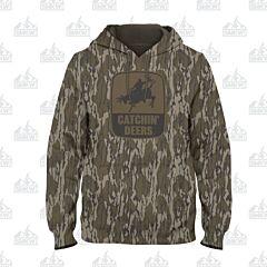 Catchin' Deer Giddy Up Hoodie Mossy Oak Bottomland