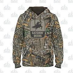 Catchin' Deer Giddy Up Hoodie Camo