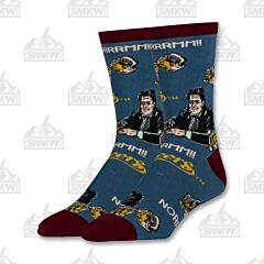 Oooh Yeah! Cheers and Norm Men's Crew Socks