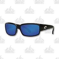 Costa Caballito Shiny Black Plastic Sunglasses