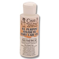 Coon P All Purpose Knife Care Oil - 2oz. Bottle