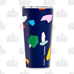 Corkcicle 16oz Blue Confetti Tumbler