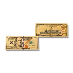 Silver 100 Dollar Foil Bill