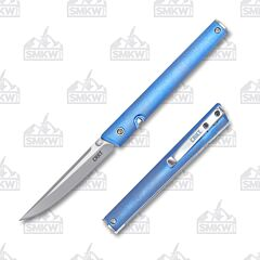 CRKT CEO Blue Anodized Titanium