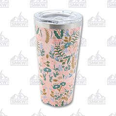 Corkcicle 16oz Gloss Pink Tapestry Rifle Paper Tumbler