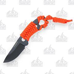 Condor Tool & Knife Orange Carlitos Neck Knife