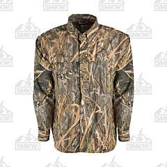 Drake Camo Wingshooter's Long Sleeve Button Down Shirt Shadowgrass