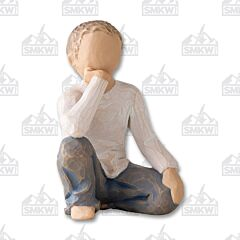 Demdaco Willow Tree Inquisitive Child Figurine