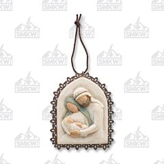 Demdaco Willow Tree Holy Family Ornament